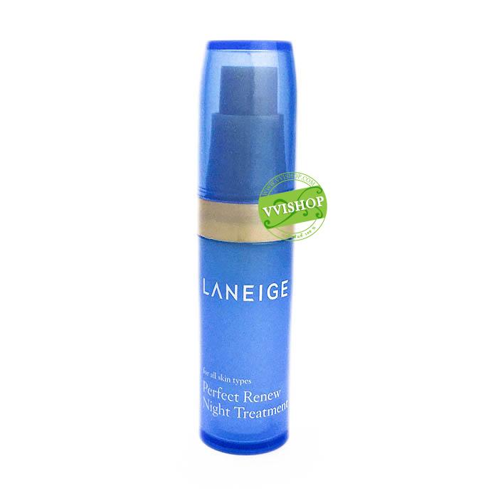 Laneige Perfect Renew Night Treatment 5 ml. เอสเซ็นส์เข้มข้น ที่ช่วยให้ผิวแลดูกระชับอย่างสังเกตได้ชัด