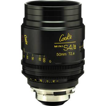 Cooke 50mm T2.8 miniS4/i Cine Coated Lens
