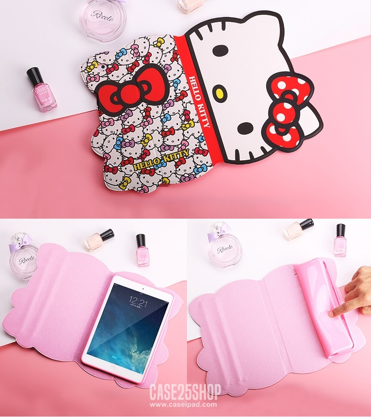 เคสการ์ตูนคิตตี้ น่ารักมากๆ (เคส iPad Air 1)