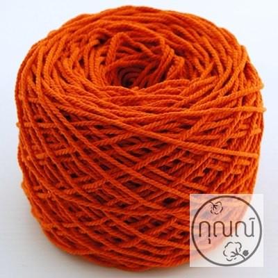 R#06 - เชือกฟอกสีส้มเข้ม