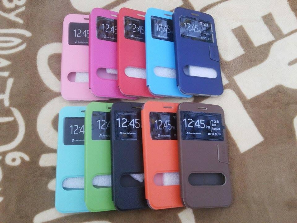 เคสเปิด-ปิด Smart Case LAVA 520