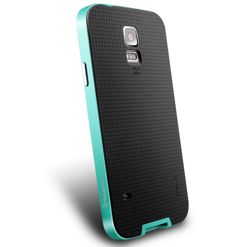IPAKY Case Samsung Galaxy S 5 (Green)