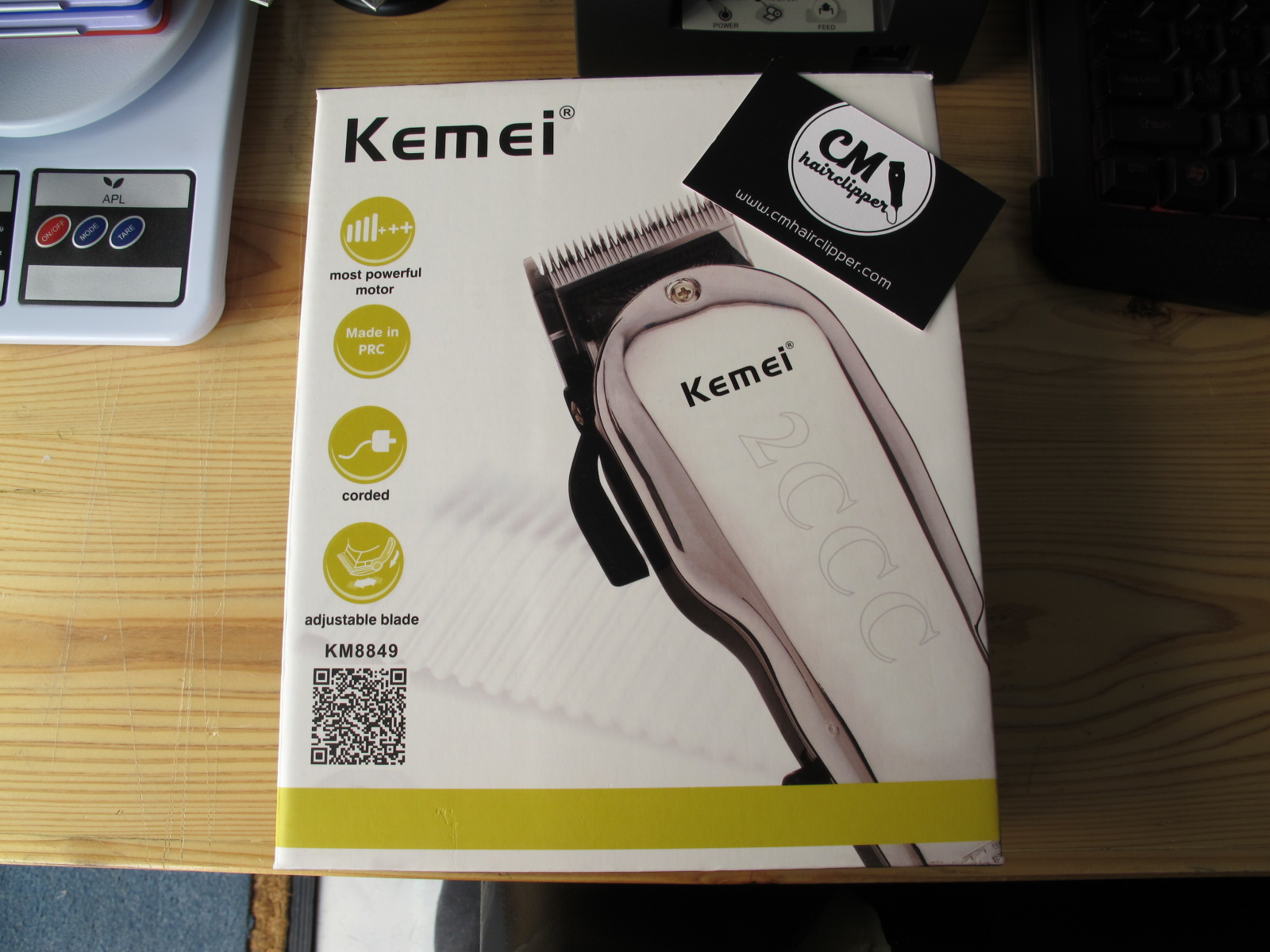 ปัตตาเลี่ยน Kemei KM-8849