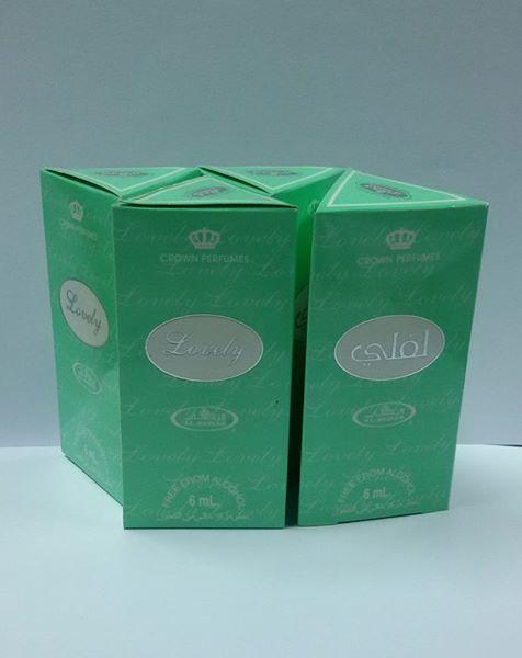 น้ำหอมอาหรับ Lovely by Al Rehab 6ml.