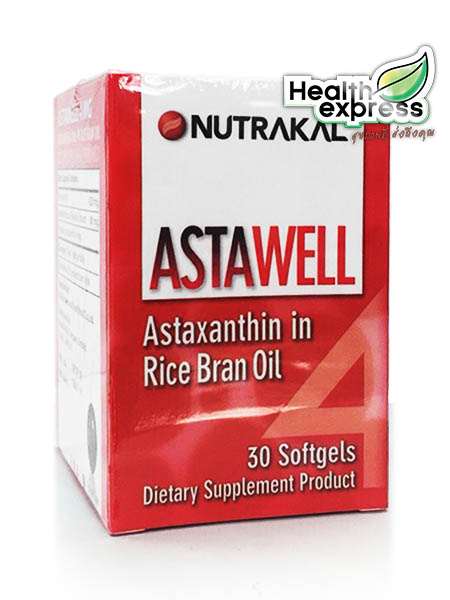 Nutrakal Astawell 4 mg. นูทราแคล แอสตาเวล 4 มก. 30 แคปซูล