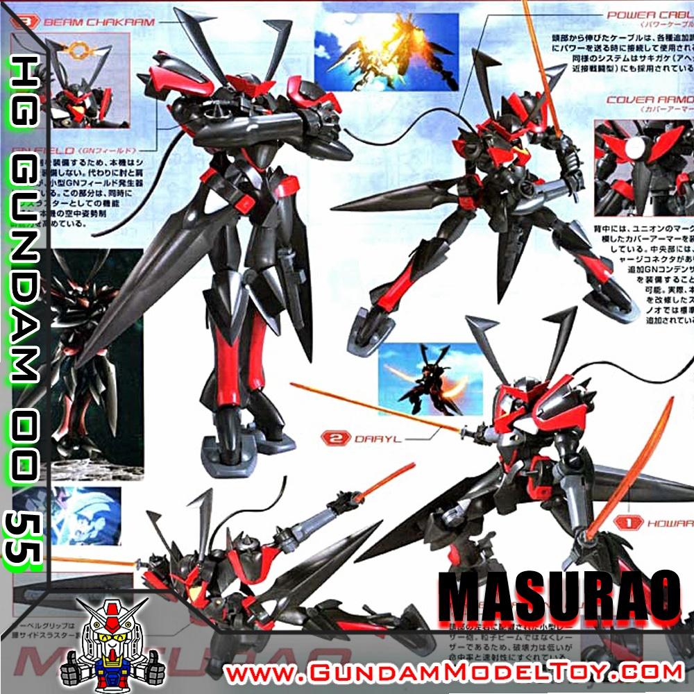 HG00 1/144 MASURAO มาสซูราโอะ