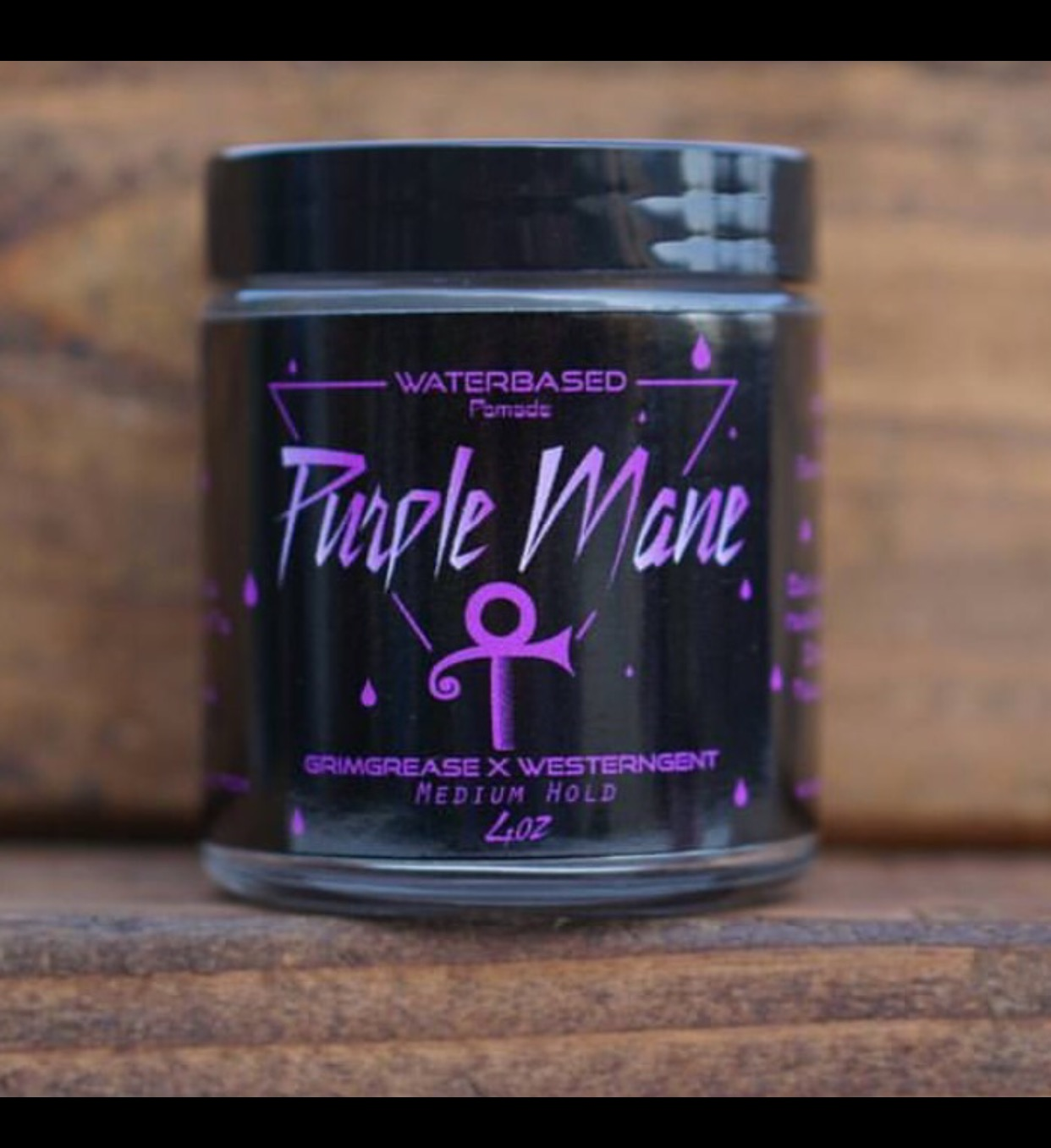 Grim Grease Purple Mane Water-based Pomade 4 o