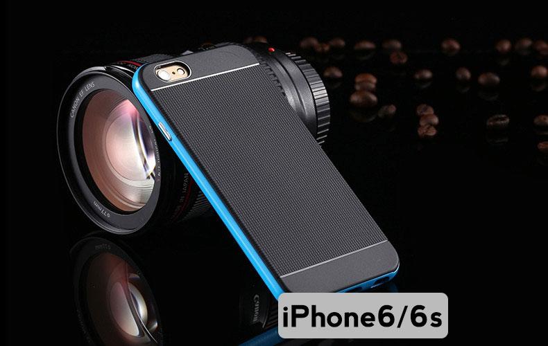 """เคส iPhone 6/6s 4.7"""" Armor Case (Floveme แท้ สีฟ้า)"""
