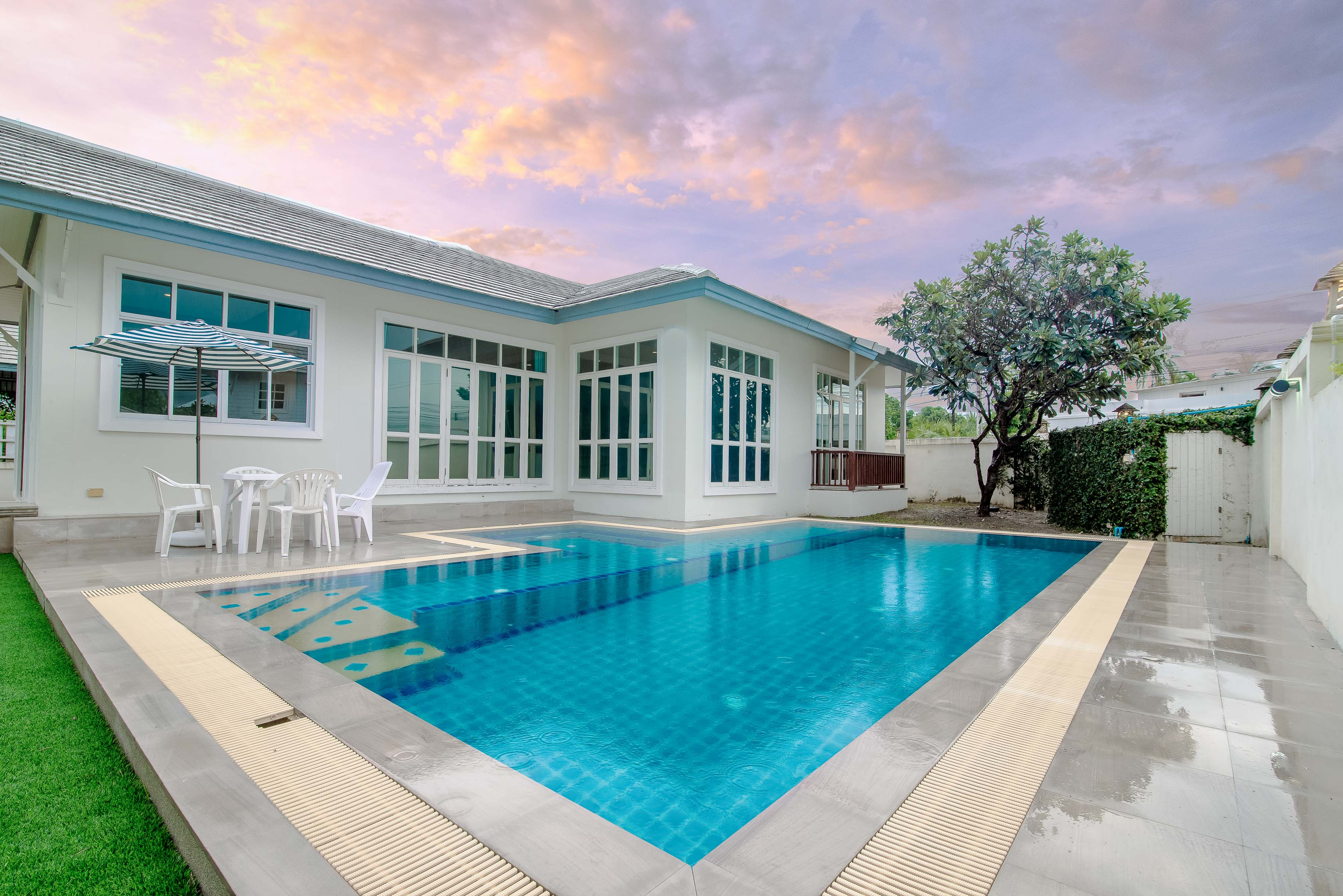 บ้านพักหัวหินมีสระว่ายน้ำ