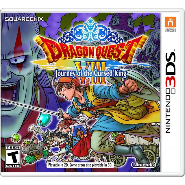 3DS Dragon Quest VIII Journey of The Cursed King : USA