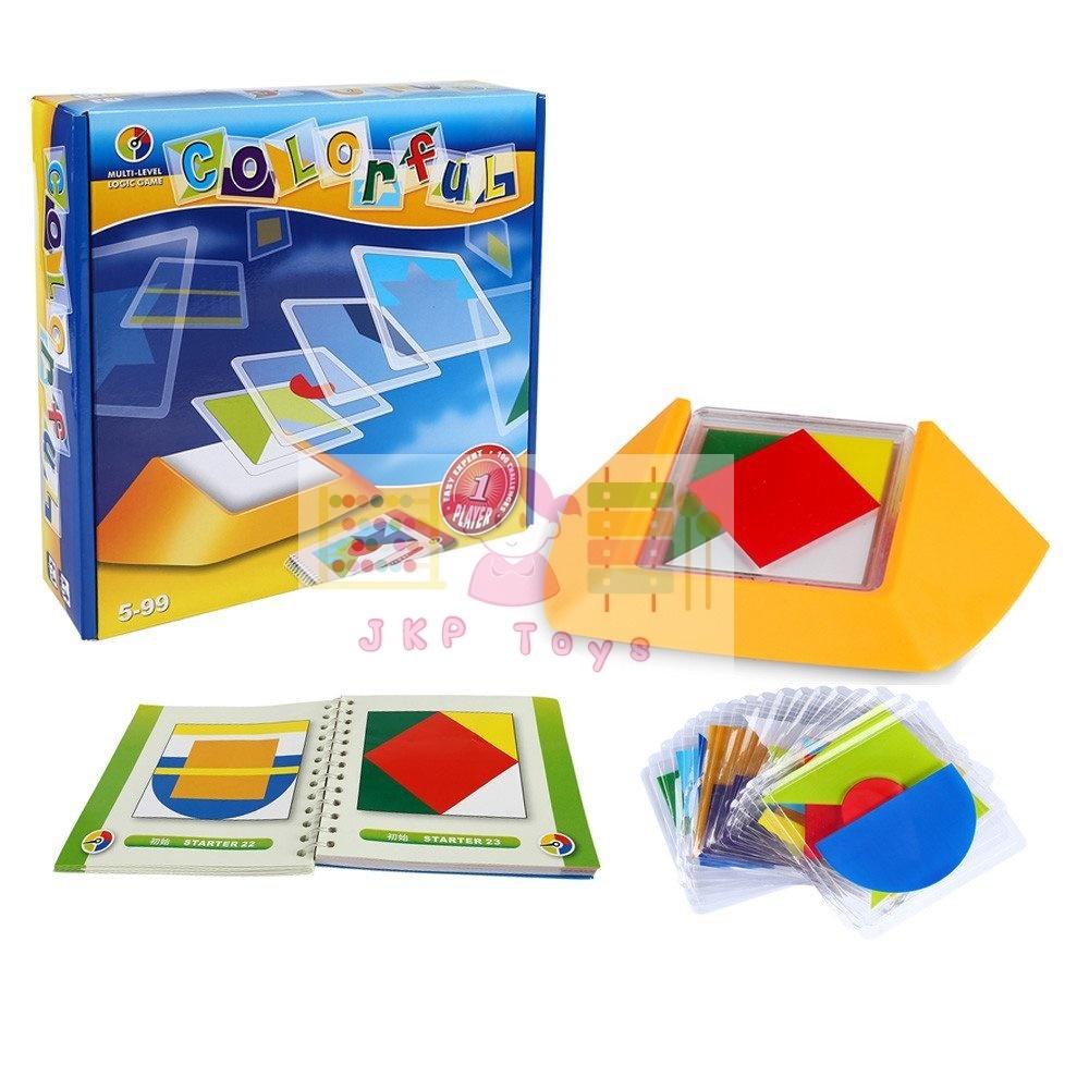 Colorful เกมวางสีสร้างภาพตามแบบ เข้าสาธิตไม่ควรพลาด