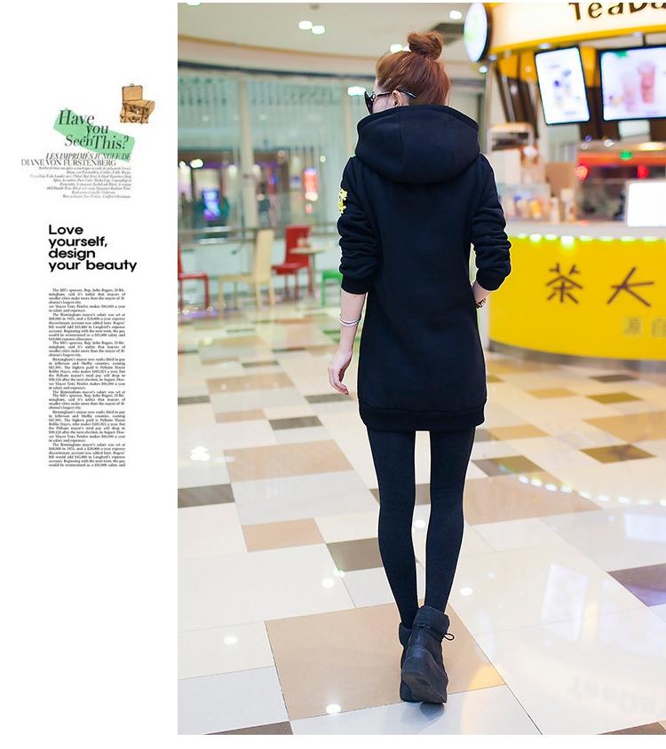 เสื้อกันหนาวแฟชั่นเกาหลีราคาถูกสีดำสุดฮอต