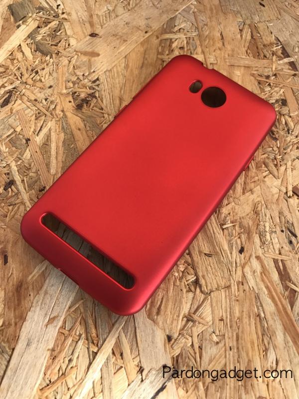 เคสแดงนิ่มหรู Huawei Y3II แบบ TPU