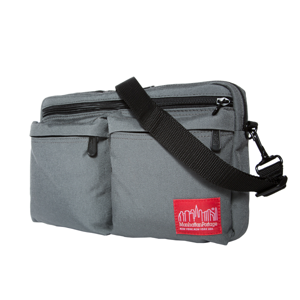 Manhattan Portage Albany Shoulder Bag - Grey