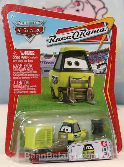 รถเหล็กทรังค์เฟรชพิทตี้ No.79 Disney/Pixar CARS Movie 1:55 Die Cast Car Series 3 World of Cars Trunk Fresh Pitty