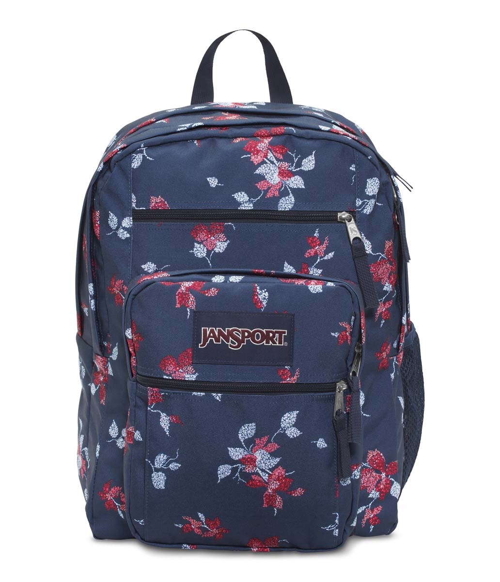 JanSport รุ่น BIG STUDENT - NAVY SWEET BLOSSOM