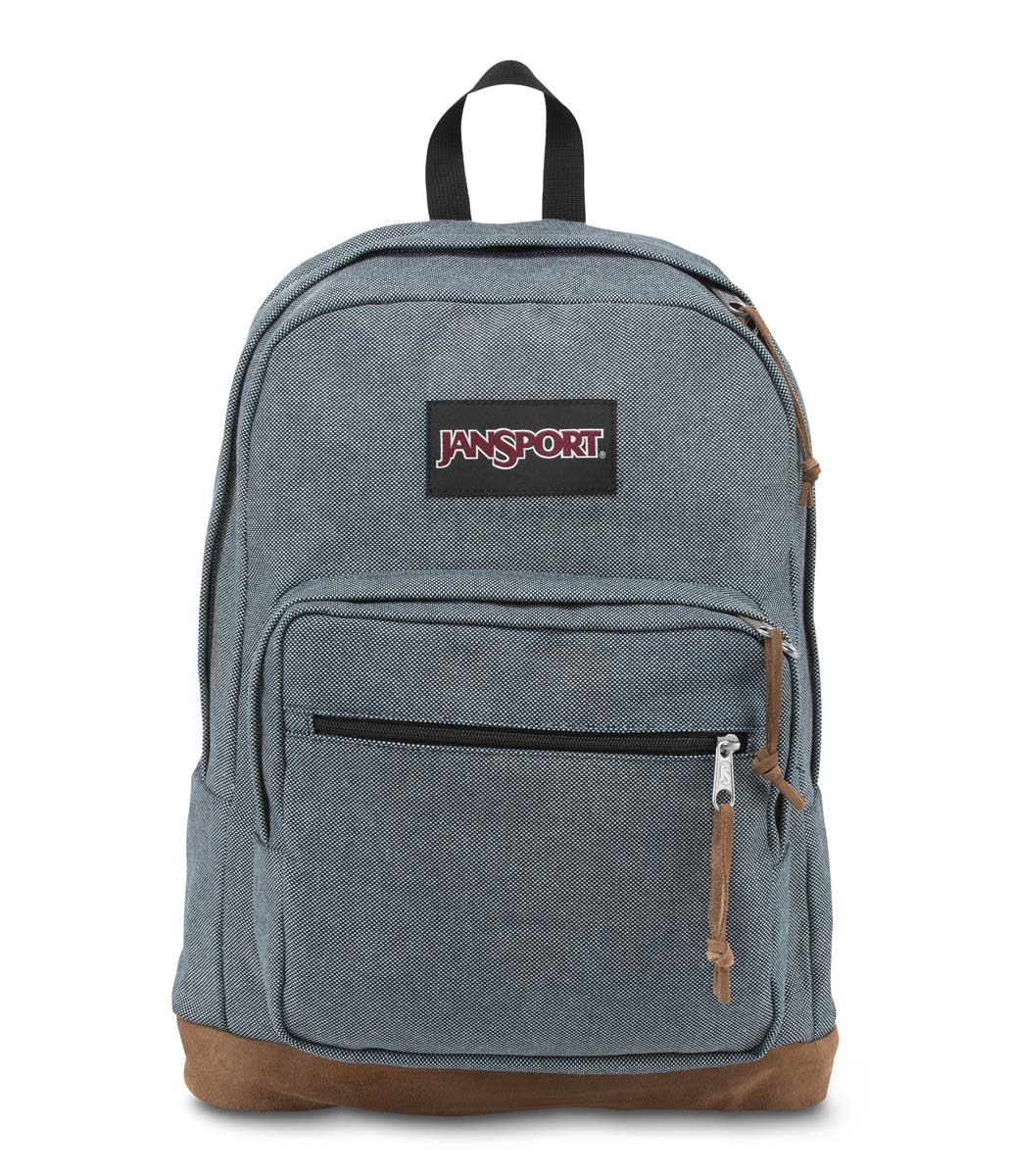 JanSport กระเป๋าเป้ รุ่น Right Pack Expressions - Blue Micro Check Denim
