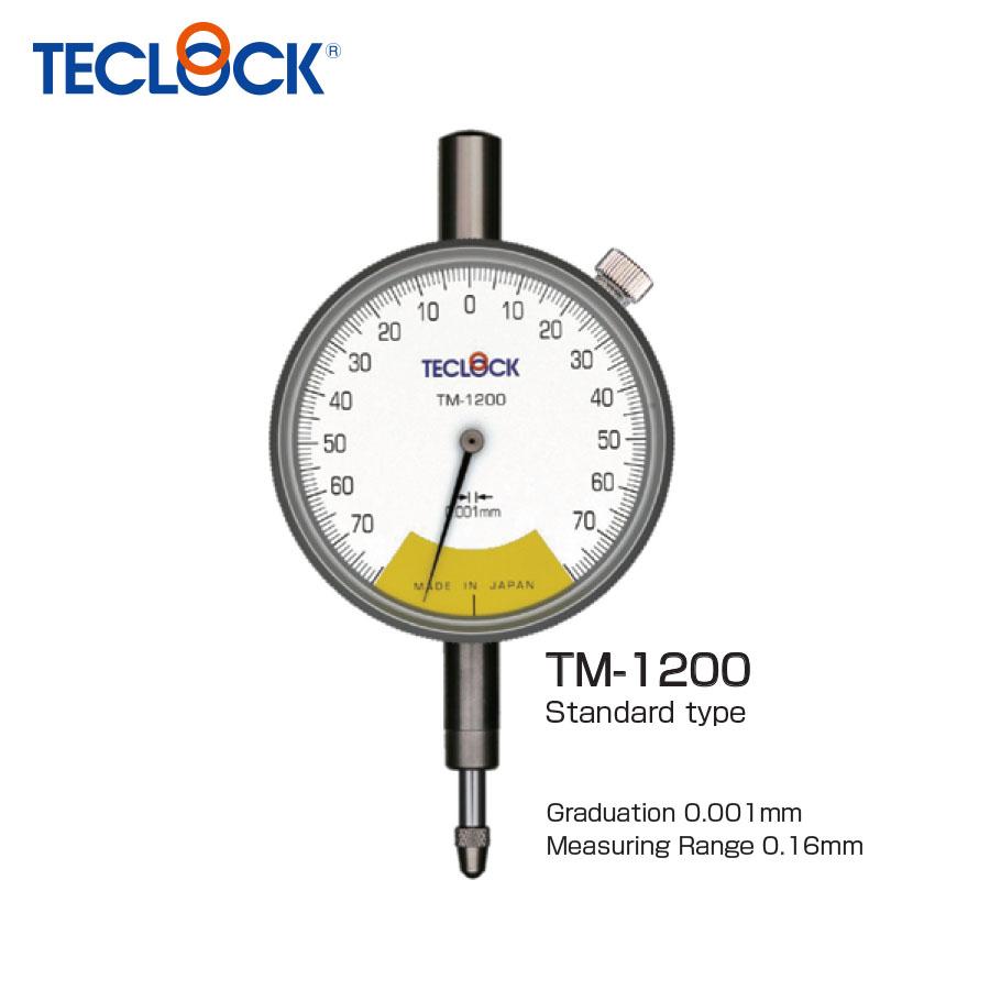 ไดอัลเกจวัดความเรียบ / One Revolution Dial Indicator (TM-1200) Teclock