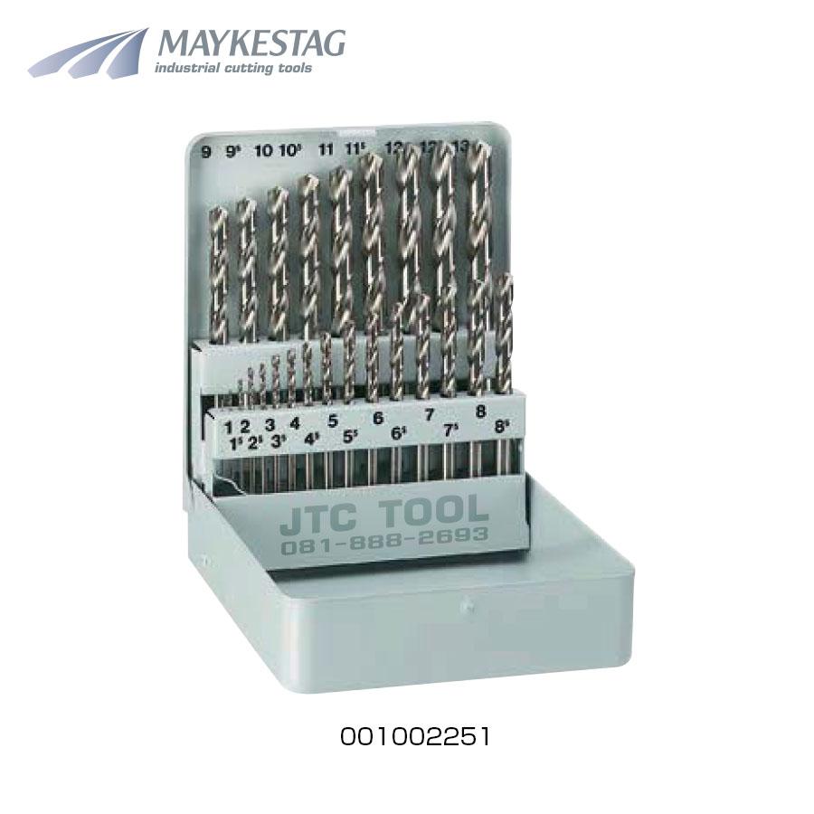 ชุดดอกสว่านไฮสปีดโคบอล / HSS Cobalt Drill Set 25pcs. (001002251) Maykestag