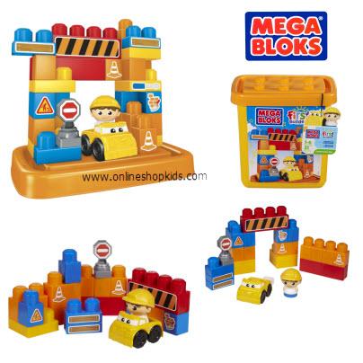ตัวต่อเมก้าบล็อก Mega Bloks Tub Town Small Construction Site (31 pcs)