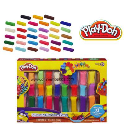 แป้งโดว์รีฟิล Play-Doh Ultimate Rainbow Pack 33 count