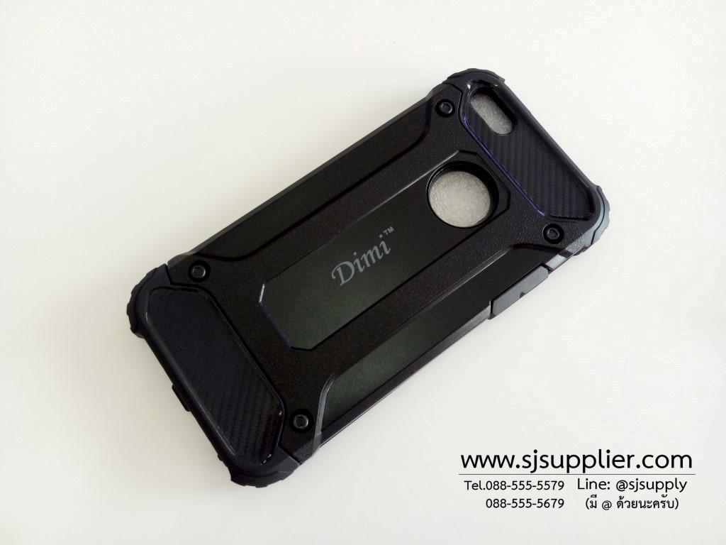 เคส iPhone 6/6s Plus กันกระแทก สีดำ
