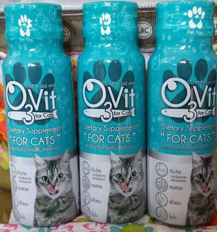 โอทรีวิท วิตามินสำหรับแมว หนึ่งโหล590รวมส่ง