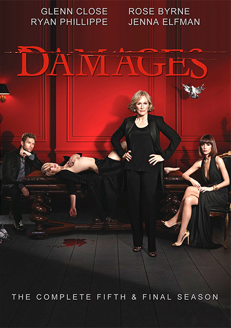 Damages Season 5 / แดมเมจส์ เดิมพันยุติธรรม ปี 5 / 3 แผ่น DVD (บรรยายไทย)