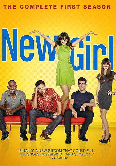 New Girl Season 1 / สาวใสยัยจอมเพี้ยน ปี 1 / 3 แผ่น DVD (บรรยายไทย)