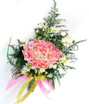ช่อดอกไม้ติดเสื้อ รหัส 6029