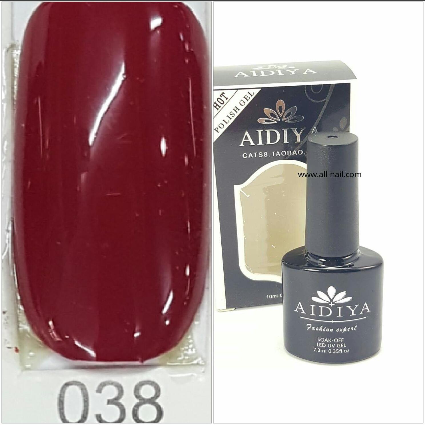 สีเจลทาเล็บ AIDIYA #038