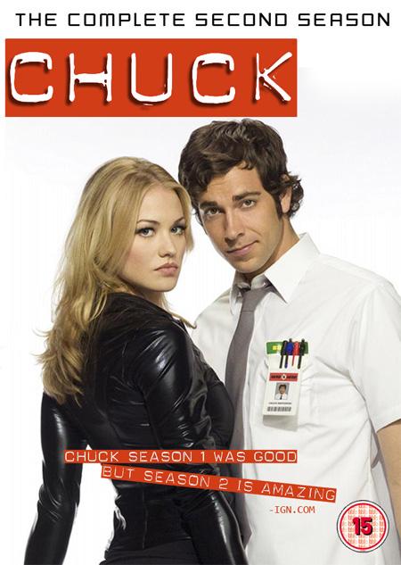 Chuck Season 2 / ชัค สายลับสมองล้น ปี 2 / 6 แผ่น DVD (บรรยายไทย)