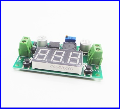 ดีซี คอนเวอร์เตอร์ ตัวแปลงไฟDC เป็นDC Buck Converter Input 4-40V to 1.25-37V Output Voltage (สำหรับอุปกรณ์ 3Aทุกชนิด)