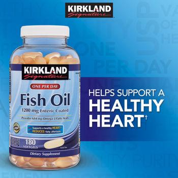 Fish oil Omega-3 one per day 180 softgels จากอเมริกา ทานแค่วันละ 1 เม็ดค่ะ