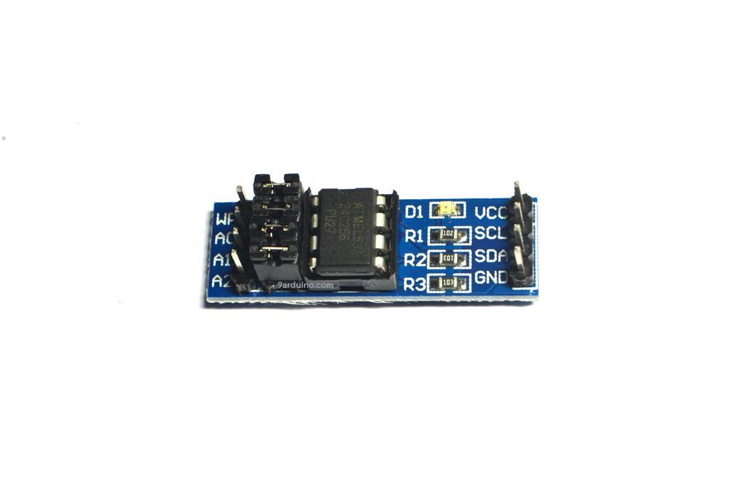 AT24C256 EEPROM memory module (I2C Interface) สำหรับ Arduino