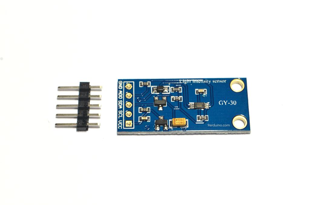 Sensor วัดความสว่างในช่วงคลื่นของแสงที่ตามองเห็น GY-30 Ambient Light Illuminace Level Sensor Module (BH1750FVI) GY-30