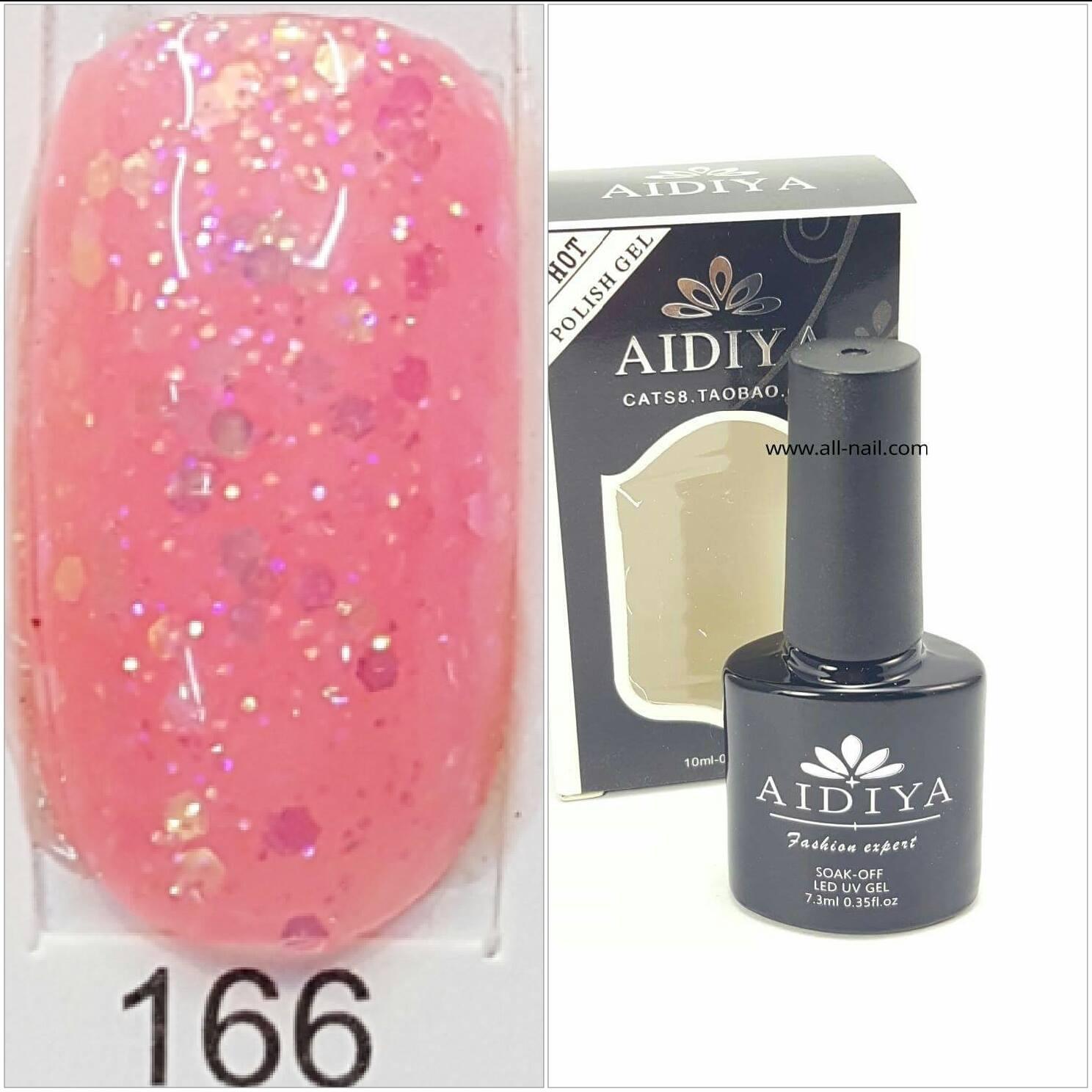 สีเจลทาเล็บ AIDIYA #166