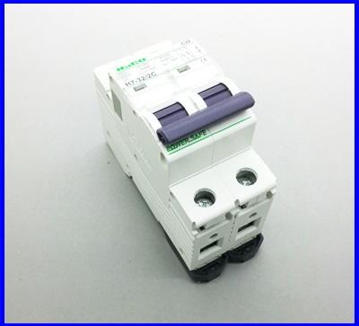 เซอร์กิตเบรกเกอร์ อุปกรณ์ป้องกันไฟฟ้า เบรกเกอร์ป้องกันไฟช๊อต HaCO Circuit Breaker H7-32/2C P2