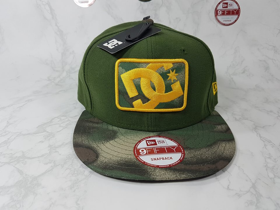 DC Shoes x New Era ฟรีไซส์ Snapback