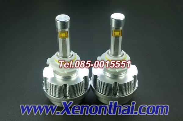 ไฟหน้าLED รุ่นS-2 ระบายความร้อนด้วยซิงค์ 3600LM ขั้ว HB3 หรือ 9005