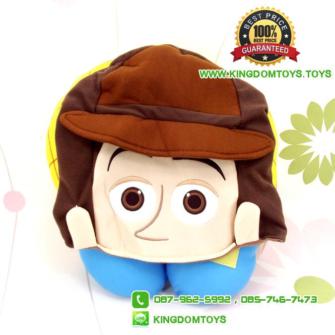 หมอนรองคอวู้ดดี้ Woody มีฮู้ด [Disney Pixar]