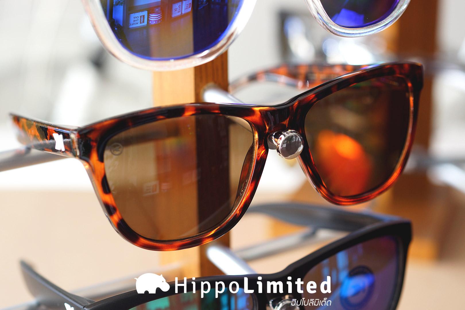 แว่น Knockaround Premiums Sunglasses - Glossy Tortoise Shell / Amber