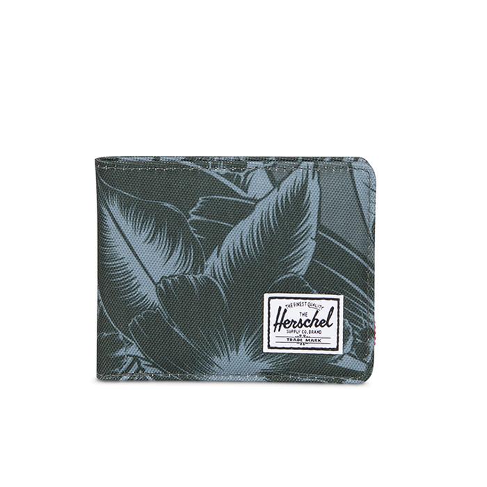 Herschel Roy Wallet - Jungle Floral Green