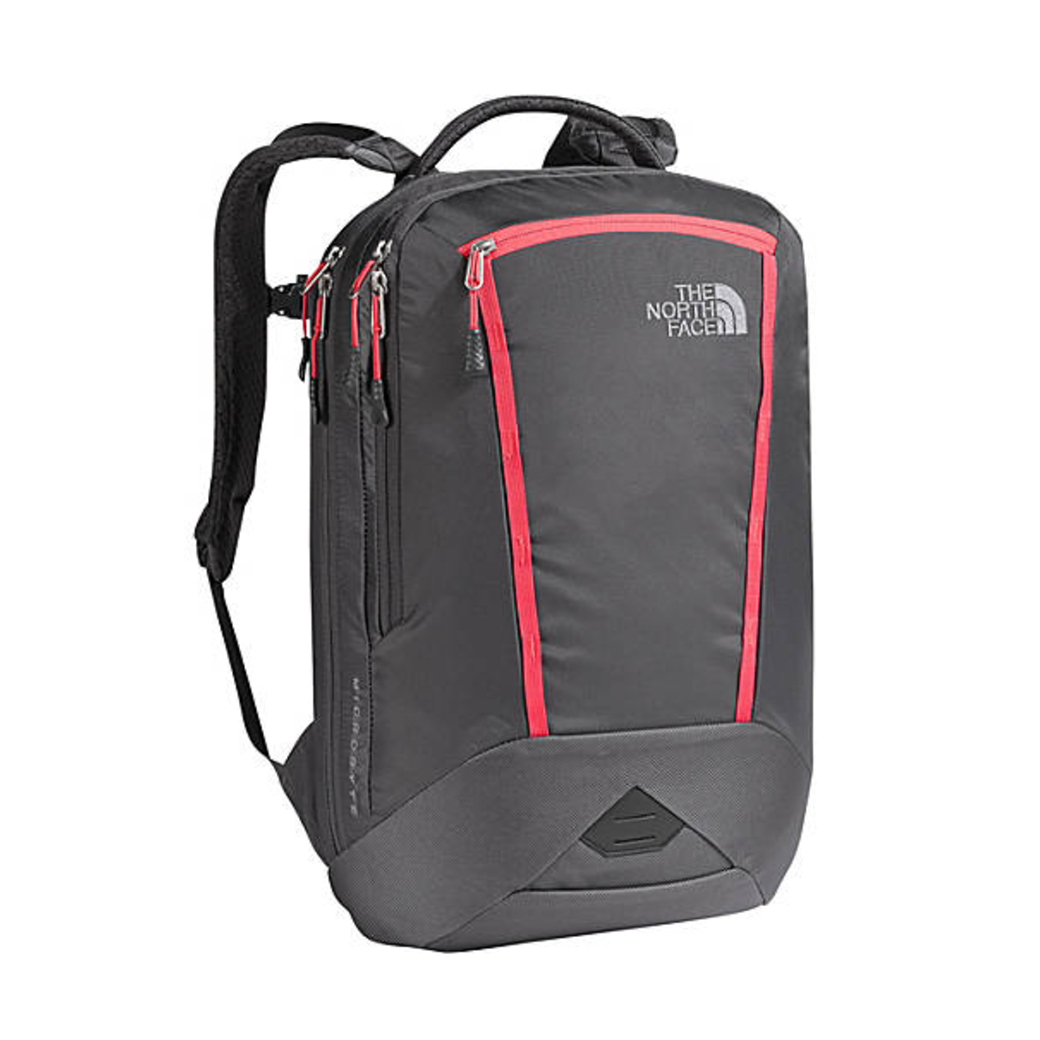 The North Face - Microbyte 17L for Men/Women (Graphite Grey/Cayenne Red)