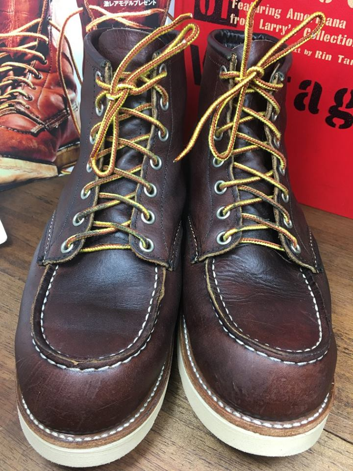 22.RED WING 8138 size 8.5.E
