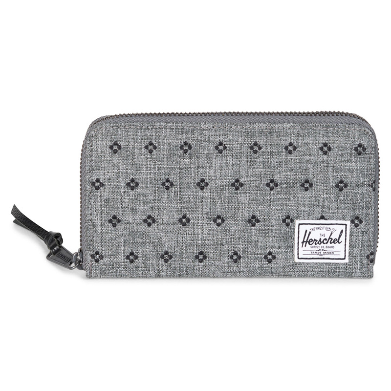 Herschel Thomas Wallet - Raven Crosshatch / Black Dots