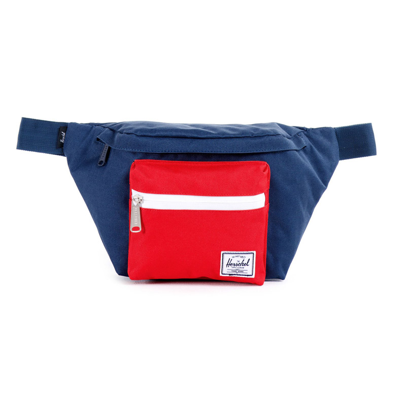 Herschel Seventeen Hip Pack - Navy/Red