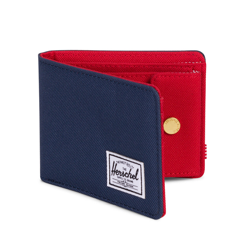 Herschel Roy Wallet | Coin - Navy / Red - ด้านข้าง