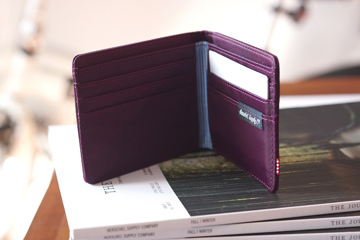 Herschel Roy Wallet - Windsor Wine Nylon