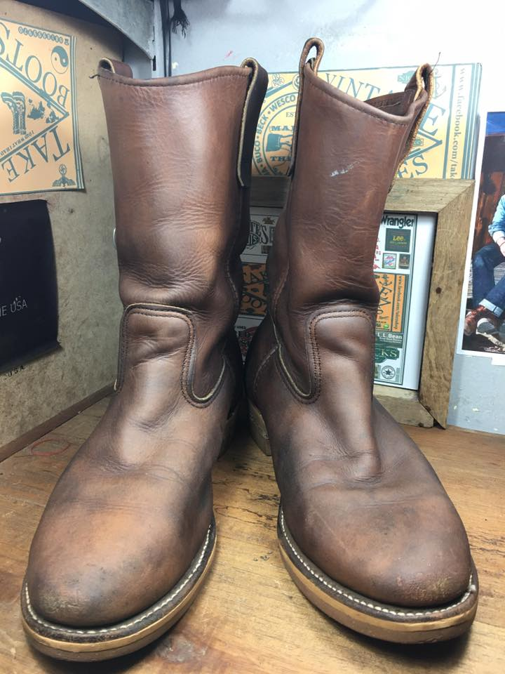 Vintage red wing 1155 boot size 9.5Dป้ายข้าง